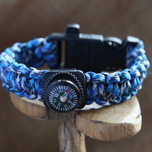 Image of Paracord Survival Bracelet
