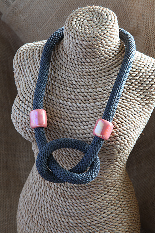 Image of Overhand Knot Necklace