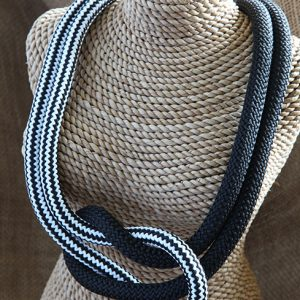 Image of Square Knot Necklace