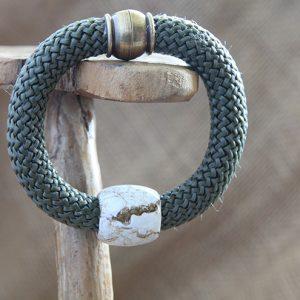 Image of Barrel Bead Bracelet
