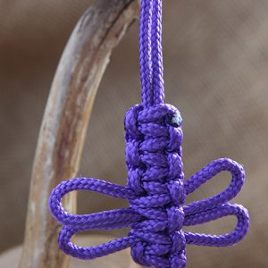 Image of Paracord Dragonfly Keyring
